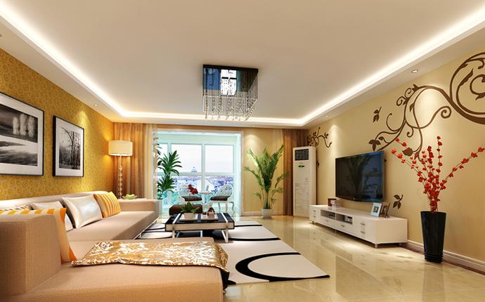 6.9万打造锦绣家园88平米现代风格